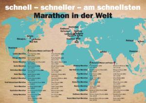 Marathon in der Welt