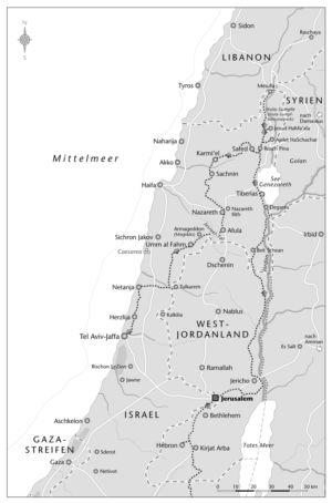 Südisrael und Gazastreifen