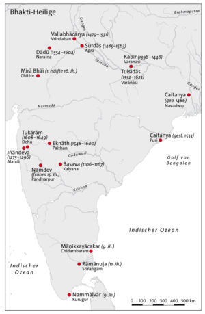 Bhakti-Heilige in Indien