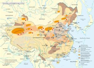 Infrastruktur und ökologische Lage in China 2008