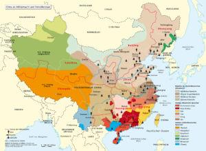 China als Militärmacht und Vielvölkerstaat 2008