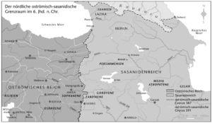 Nördliche oströmisch-sasanidische Grenzraum 6. Jahrhundert