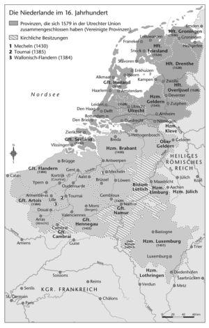Niederlande im 16. Jahrhundert