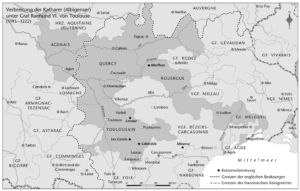 Katharer (Albigenser) 1195 bis 1222