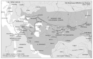 Wilhelm von Rubruk im Reich der Mongolen