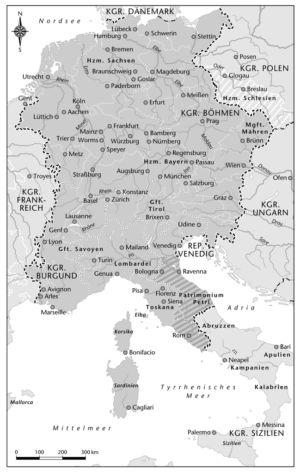 Deutschland zur Zeit Friedrichs II.