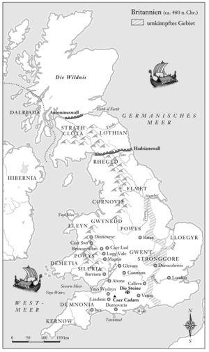 Britannien 480 n.Chr.