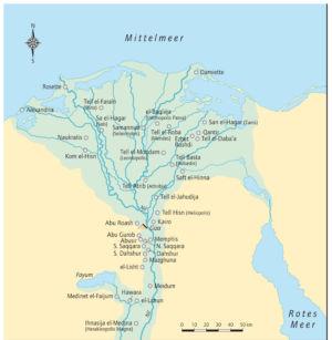 Ägypten Nildelta