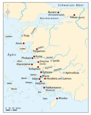 Griechen in Kleinasien