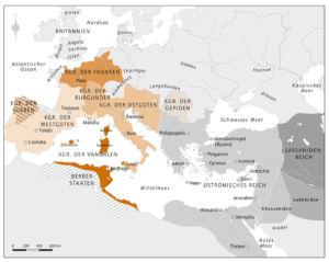 Europa um 500