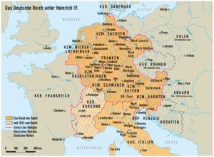 Heiliges Römisches Reich unter Heinrich IV.