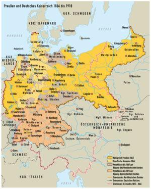 Preußen und das Deutsche Kaiserreich 1866 bis 1918