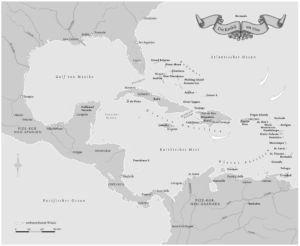 Karibik um 1700