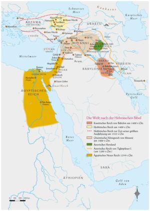 Ägypten, Kleinasien und Naher Osten