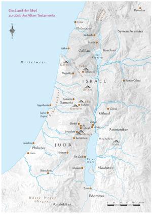 Palästina im Alten Testament