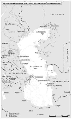 Kaspisches Meer (Öl und Kaviar)