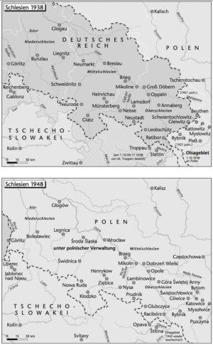 Schlesien 1938 und 1948