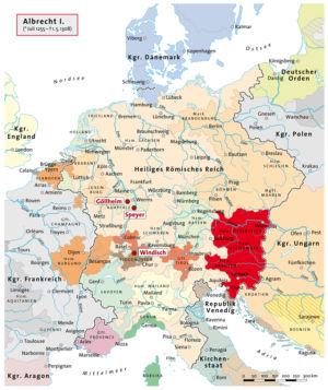 Heiliges Römisches Reich unter Albrecht I.