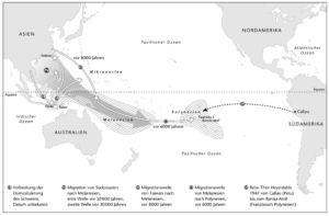 Ausbreitungen im Pazifik