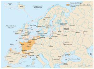 Wikingerzüge in Europa