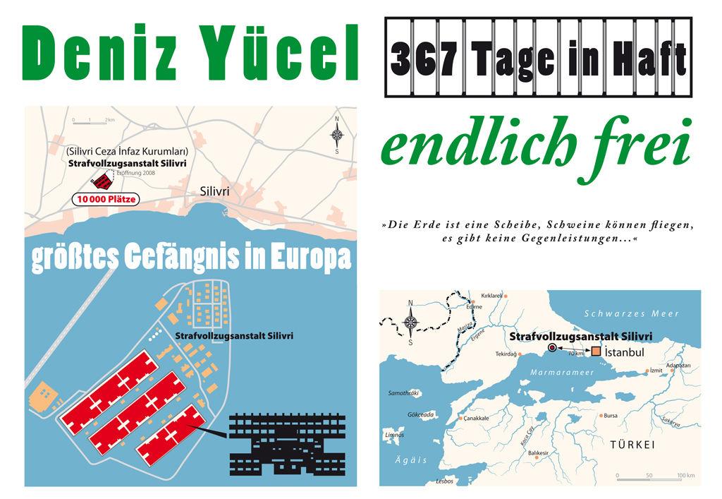 Deniz Yücel - 367 days in jail