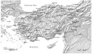 Römerstraßen in Kleinasien