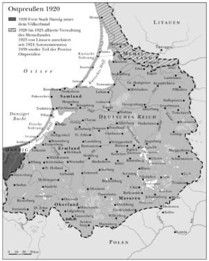 Ostpreußen 1920