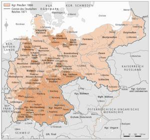 Preußen 1866 und 1871