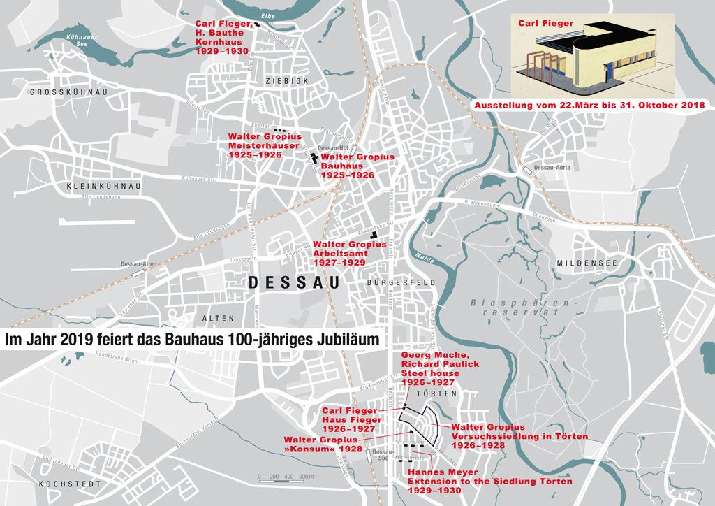 "The ""Bauhaus"" in Dessau"