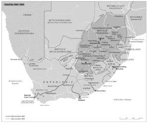 Südafrika 1884 bis 1899