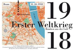 Vor 100 Jahren Fliegerbomben auf Bonn!