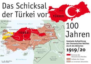 Vor 100 Jahren – Zerschlagung des Osmanischen Reiches durch die Alliierten