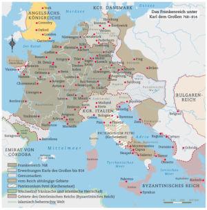 Frankenreich 768 bis 814
