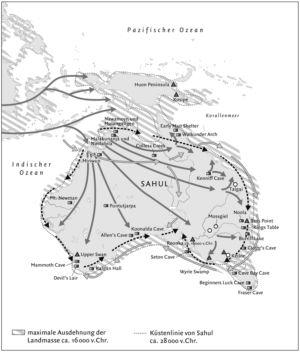 Besiedlung Australiens