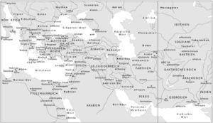 Hellenistische Welt 185 v. Chr.