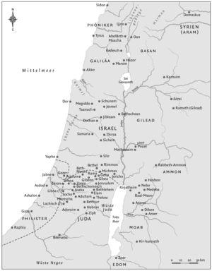 Palästina zur Königszeit