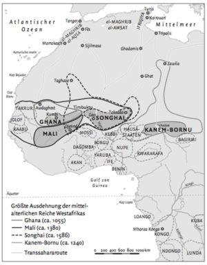 Mittelalterlichen Reiche Westafrikas