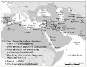 """Städte des Islams (""""Leuchten"""" des Geographen Muqqadasi)"""