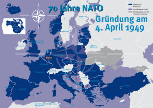 70 Jahre NATO (North Atlantic Treaty Organization)