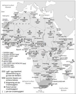 Afrika 1948 bis 1993