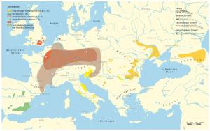 Schwerter während der Eisenzeit