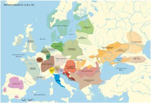 Die verschiedenen Kulturen in der frühen Eisenzeit