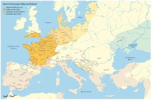 Historisch bezeugte Völker und Stämme während der Eisenzeit