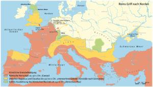 Roms Griff nach Norden