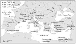 Antike Autoren zu den Kelten und ihre Heimatregionen
