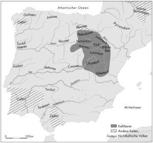 Die keltischen Völker der Iberischen Halbinsel nach Strabo