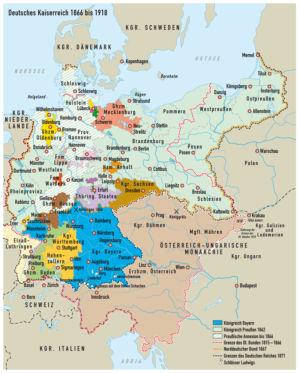 Deutsches Kaiserreich 1866 bis 1918
