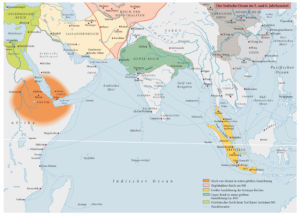 Der Indische Ozean im 5. und 6. Jahrhundert