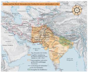 Indien und das Reich Alexanders des Großen bis zum 4. Jahrhundert v.Chr.