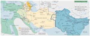 Islamische Reiche um 1500